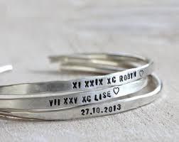 customized bracelet etsy