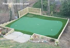 Building A Backyard Putting Green Do It Yourself Putting Greens Custom Putting Greens