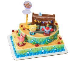 spongebob squarepants cake spongebob squarepants krusty krab signature cake decoset cake