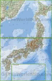 Map Japan Large Detailed Map Of Japan With Cities