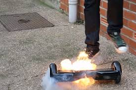 lexus hoverboard official website a hoverboard burst into flames right out of the box