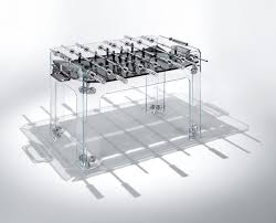 space needed for foosball table 7 best designer foosball tables images on pinterest luxury