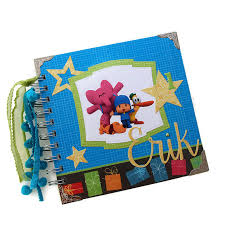 pocoyo themed baby boy guest book perfect final