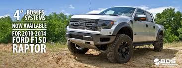 ford raptor lifted press release 203 10 14 ford raptor 4 lift kits bds