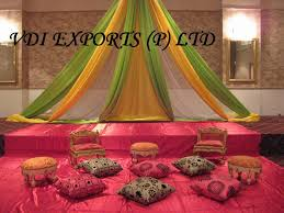 wedding mahendi decoration theme and indian wedding accessories