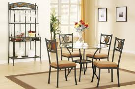 kitchen table adorable glass top kitchen tables round glass