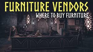 eso homestead furniture vendors guide where buy furniture in