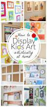 best 25 art wall kids display ideas on pinterest rustic kids