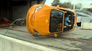 si e auto crash test adac rollover crash test of compact convertibles