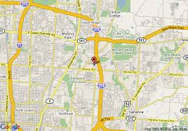 easton map map of extended stay america columbus easton columbus