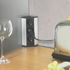 multiprise d angle cuisine bloc 3 prises d angle sur plan de travail accessoires de cuisines