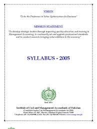 syllabus icmap derivative matrix mathematics