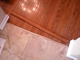 wood floor over tile wb designstile to laminate transition