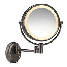 jilbere lighted makeup mirror makeup mirrors in brand conair type wall mounted mirror ebay