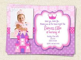 princess 1st birthday invitation wording 37 best birthday
