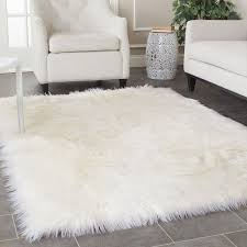 Fuzzy Area Rug Brilliant Bedroom Best 25 Fluffy Rug Ideas On Pinterest White With Area Home Intended For White Fluffy Area Rug Jpg