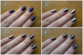 beautyrobot nail art glitter aztec