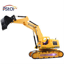 Radio Controlled Front Loader 1 10 Scale Rc Bulldozer Construction Popular Electric Trucks Buy Cheap Electric Trucks Lots From China