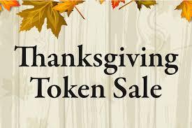 thanksgiving token sale jacksonville