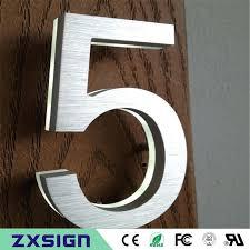 light up address sign house number light full size of house numbers number light solar