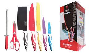swiss kitchen knives royalty line switzerland 8 knife set