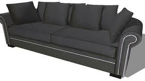 le monde du canapé canapé plazza gris anthracite maisons du monde réf 133 115 prix
