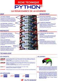pneu vtt tubeless ou chambre à air hutchinson python 2 pneu vtt 26x2 25 54 559 tubeless ready