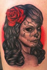 unify company tattoos flower day of the dead