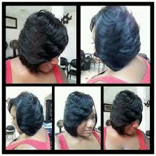 feathered brush back hair best 25 feathered bob ideas on pinterest black bob hairstyles