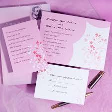 Wedding Invitation Packages Heart Wedding Invitations