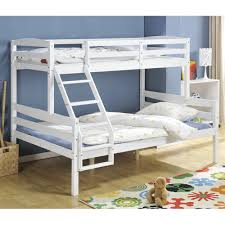 Hastings Triple Bunk Bed In White Nao  Nani - White bunk beds uk