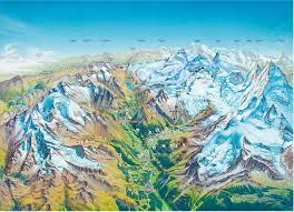 Swiss Alps Map Ski Wellness U0026 Hiking Saas Fee Switzerland