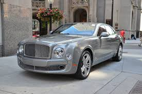 bentley grey 2011 bentley mulsanne stock b551a for sale near chicago il il