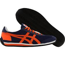 halloween sneakers asics onitsuka tiger california 78 og navy orange sole