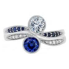 sapphire engagement rings sapphire engagement rings from mdc diamonds nyc