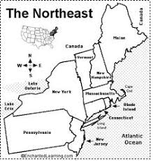 northeast united states map with states and capitals maps northeastern united states map terrestrial habitat