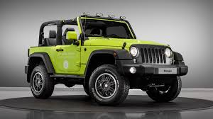 jeep army star jeep wrangler rubicon and renegade receive mopar treatments for paris