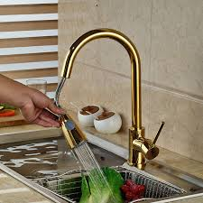 deck mounted gold finish kitchen sink faucet manaus deck mounted gold finish kitchen sink faucet