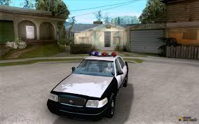 crown victoria 2003 police for gta san andreas