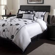Black And White And Green Bedroom Bedroom Dark Comforters Black And White Bedding Ensembles