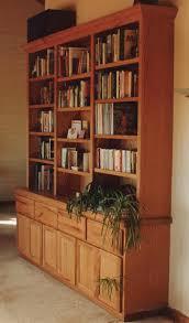 Oak Bookshelves by Richard Fakelmann Woodworking Livingroom Furniture Designed And