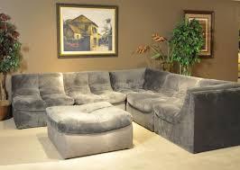 grey fabric modern living room sectional sofa w wooden legs bella charcoal fabric modern sectional sofa w optional ottoman