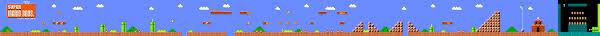 Super Mario Bros 3 Maps Super Mario Bros Level 1 1 Map Nes Nintendo Entertainment System