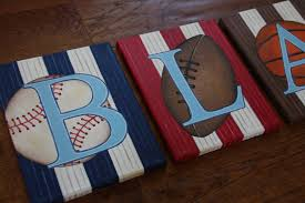 Football Rugs For Kids Rooms by 8 X 10 Personalized Name Wall Sports Baseball