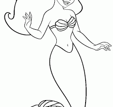 draw mermaid coloring pages fresh plans free free