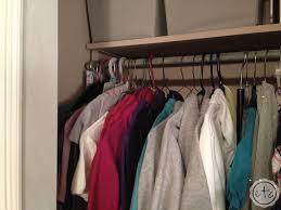 closet organization for small spaces u0026 smaller budgets happily
