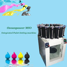 oceanpower mio integrated machine with manual dispenser and gyro