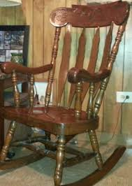 Wooden Rocking Chair Solid Wood Rocking Chair Gallery Of Wood Items