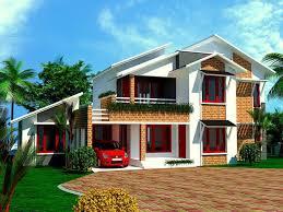 Slanted Roof House Sloped Roof House Elevation Gharexpert