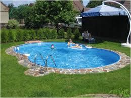 Small Backyard Above Ground Pool Ideas Backyards Charming Backyard With Pool Backyard Above Ground Pool